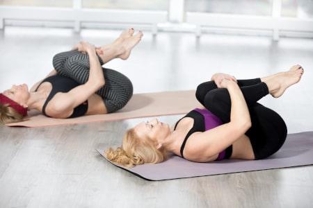 Dorsoo blog lage rugpijn rekoefening knieen naar de borst