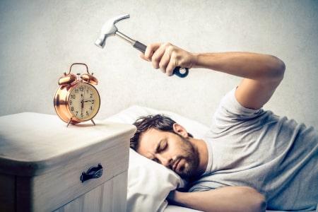 Oorzaken te weinig rem-slaap