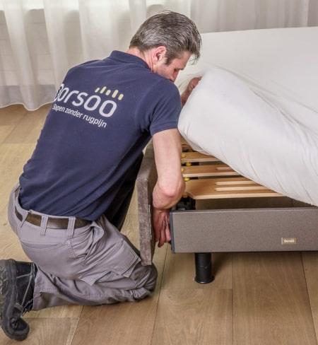 Dorsoo blog inbouw slaapsysteem in bedkader