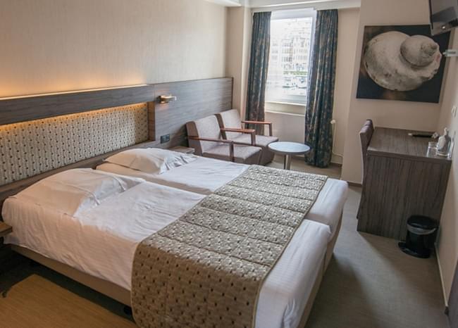 Hotel Burlington - Oostende - Dorsoo Active+ slaapsysteem uittesten