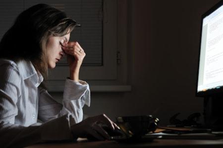 Dorsoo blog slaaptekort oorzaak hoofdpijn scherm