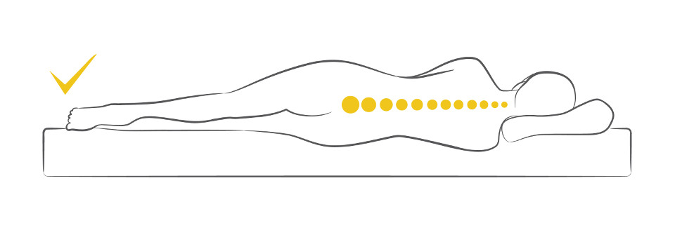 Dorsoo beste matras bij rugklachten Lighouding Zijlig