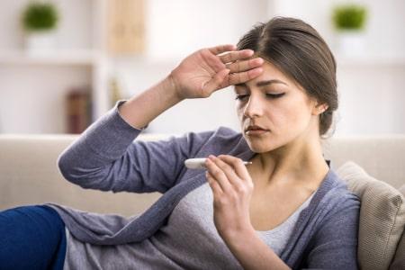 CVS symptomen