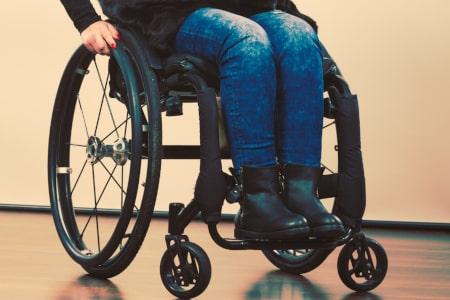 dwarslaesie rolstoel